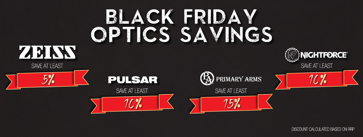 Black Friday Optics Savings