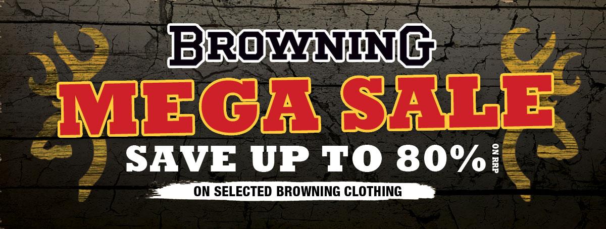 Browning Mega Sale