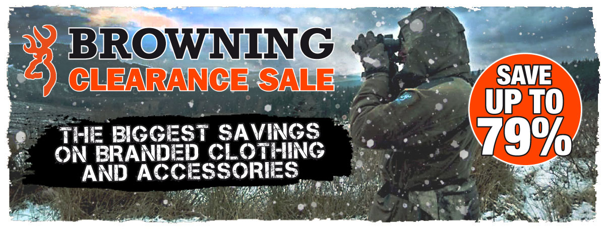 Browning Sale 2016-17
