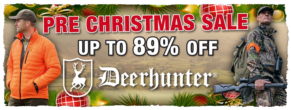 Pre Christmas Sale Deerhunter