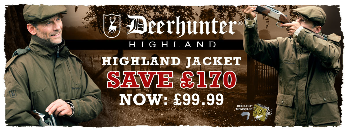 Highland Jackets - Save £170.00