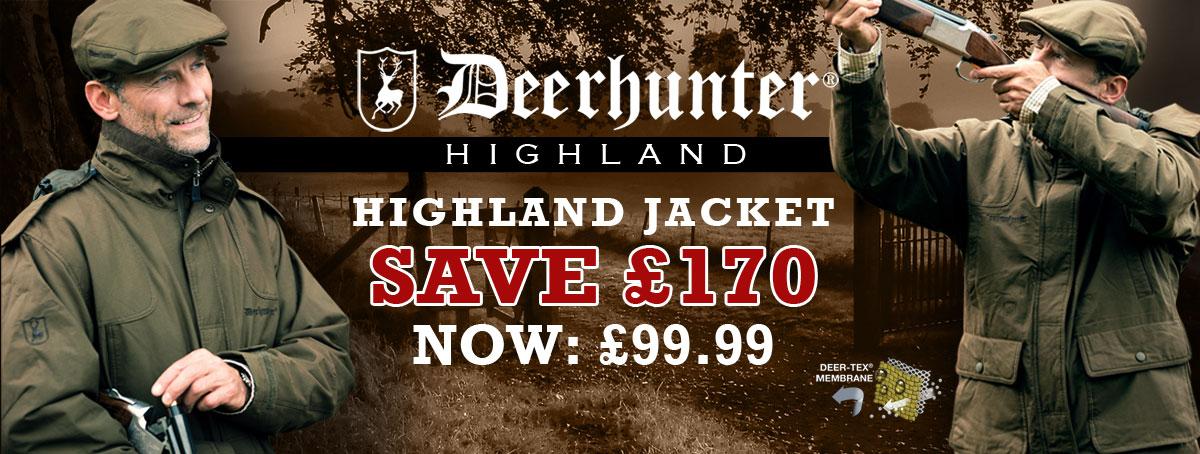Highland Jackets - Save £170.00