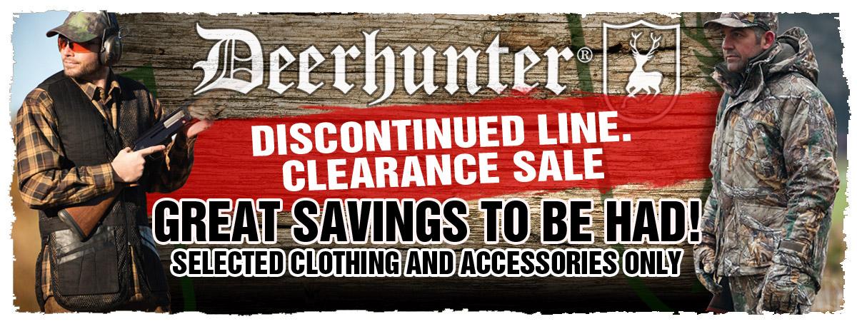 Deerhunter Clearance
