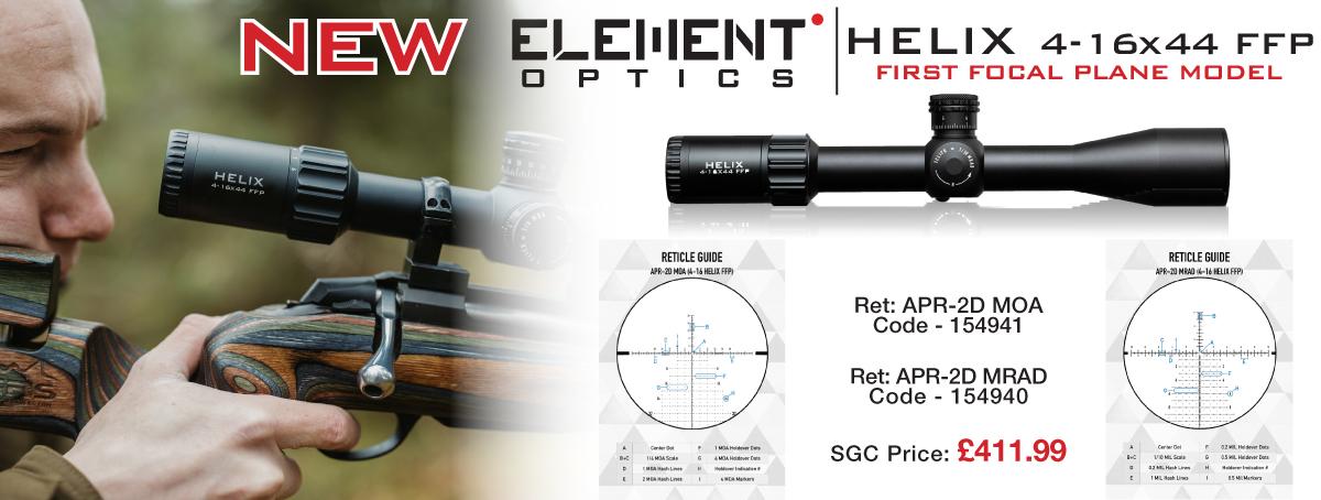 Element Helix 4-16x44 FFP