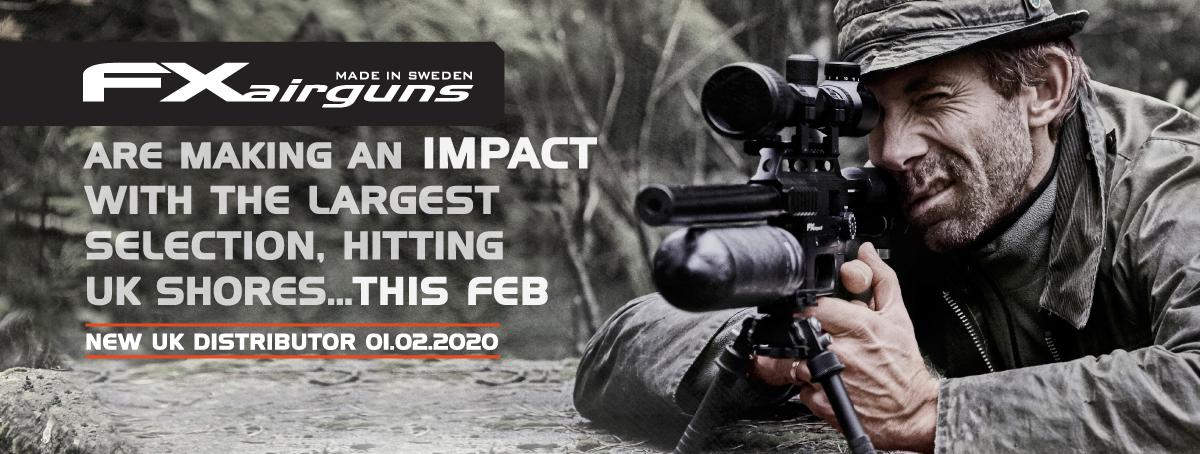 FX Airguns New UK Distributor | February 2020