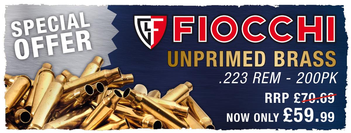 Fiocchi Unprimed Brass