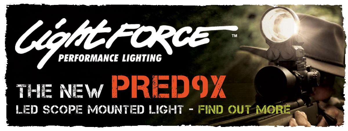 Lightforce Pred9X Gun Mounted Lamp