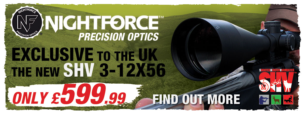 Nightforce SHV Rifle Scope