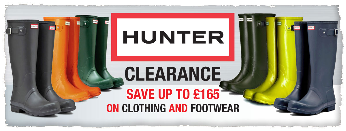 Hunter Clearance - Save Up To £165