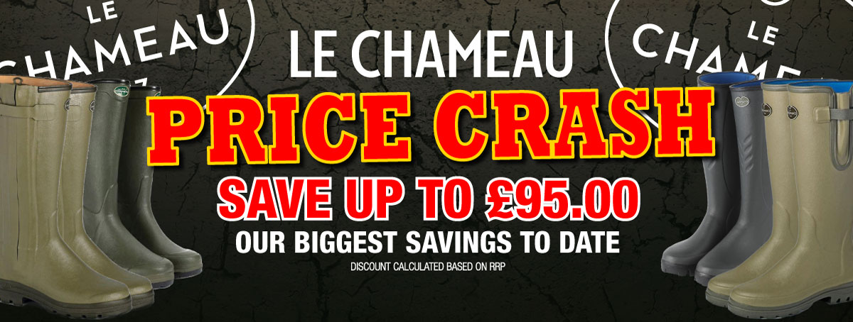 Save up to £95.00 on Le Chameau Boots