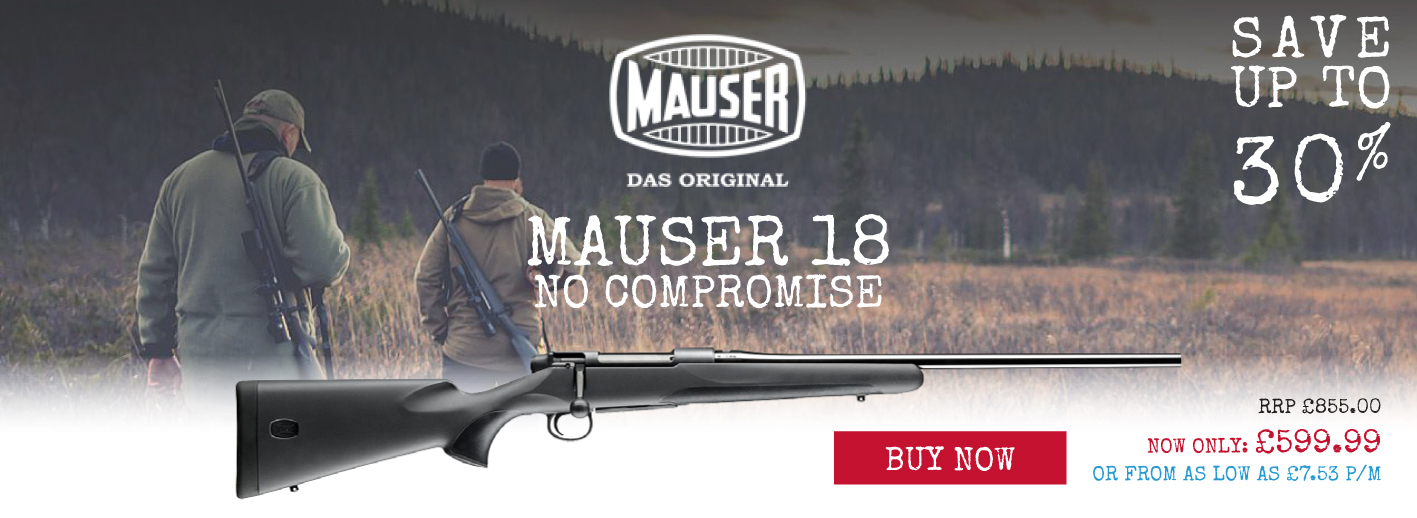 The Mauser 18 - 30% off RRP