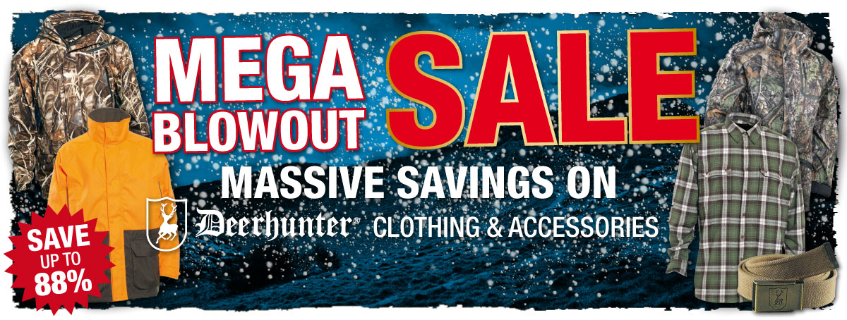 Deerhunter Mega Sale