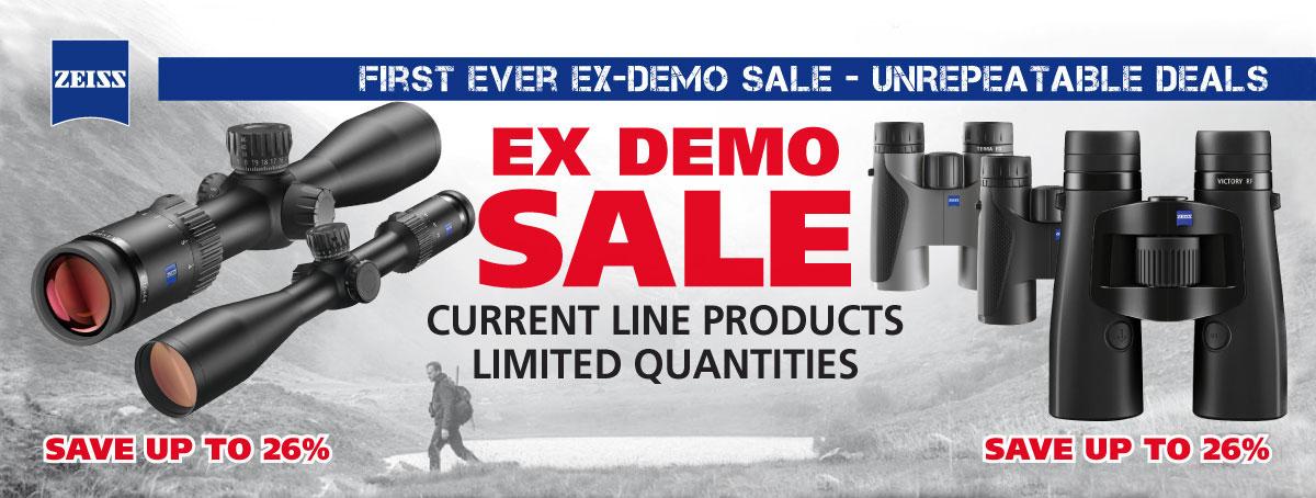 EX Demo - Zeiss Sale
