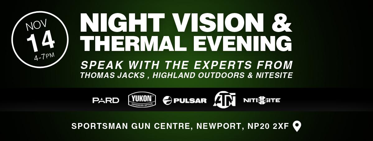 Night Vision & Thermal Evening | Newport Nov 14th