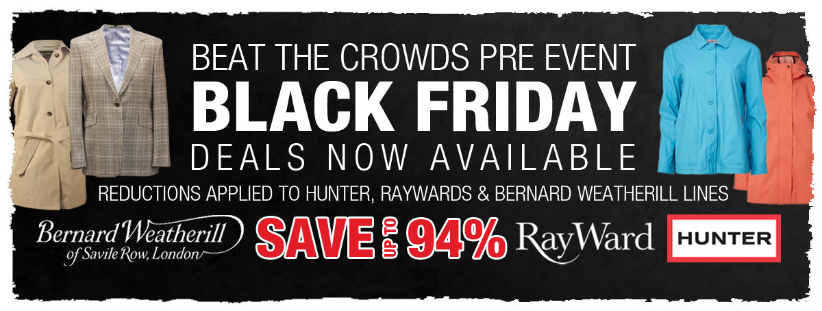 Beat the crowds and grab a bargain whilst stocks last