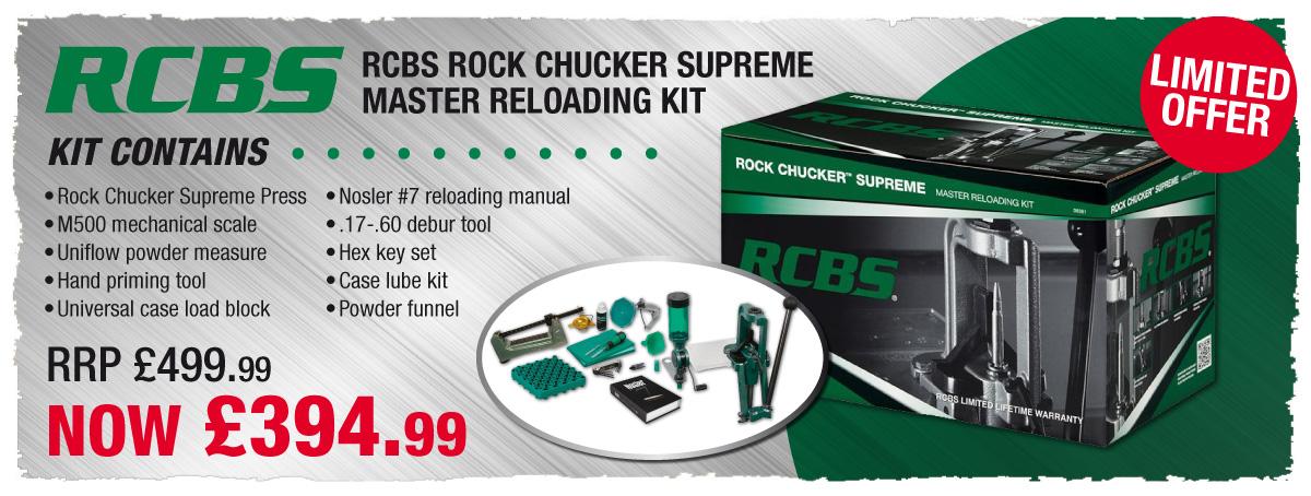 Limited Offer RCBS master Reloading Kit