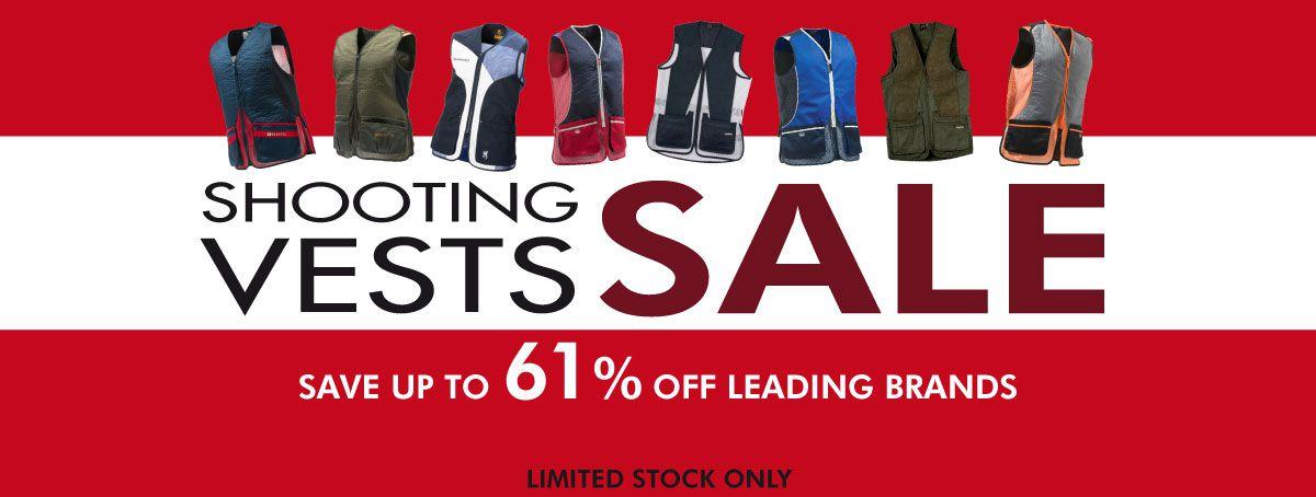 Skeet Vest Sale - Save up to 61%