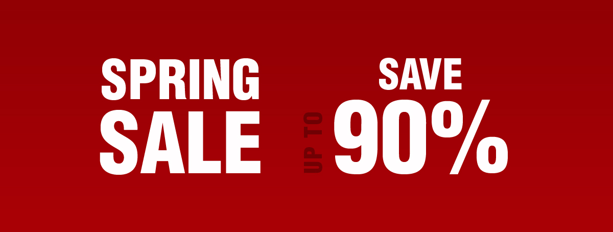 Spring Sale Now Live | Save up to 90%