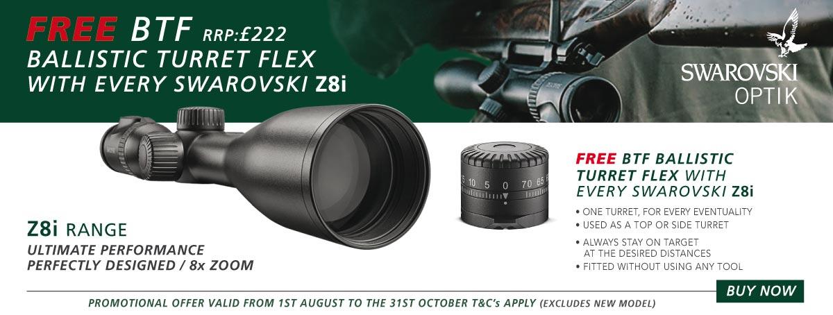Swarovski Z8I Flex Turret Offer