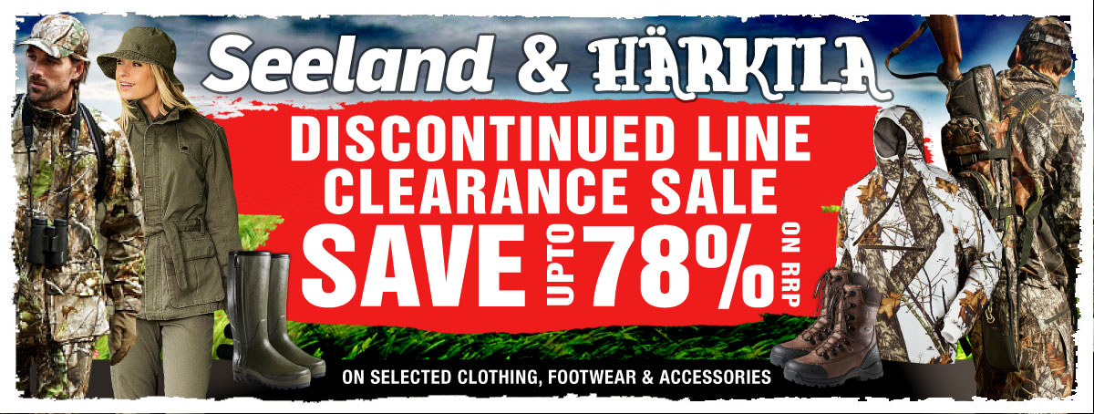 Seeland and Harkila sale products