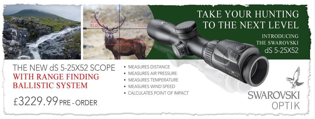 The world most advanced hunting scope - the Swarovski dS 5-25x52