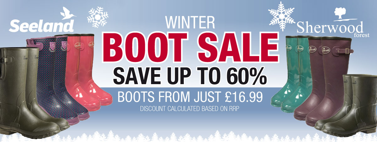 Save up to 60% - Boots from Just £16.99