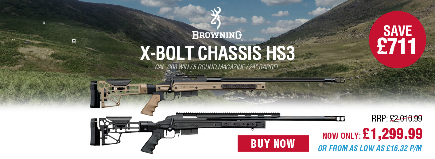Save £711 on the Browning X-Bolt Chassis