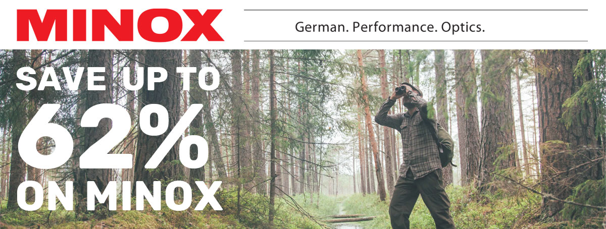 Save up to 62% on Minox