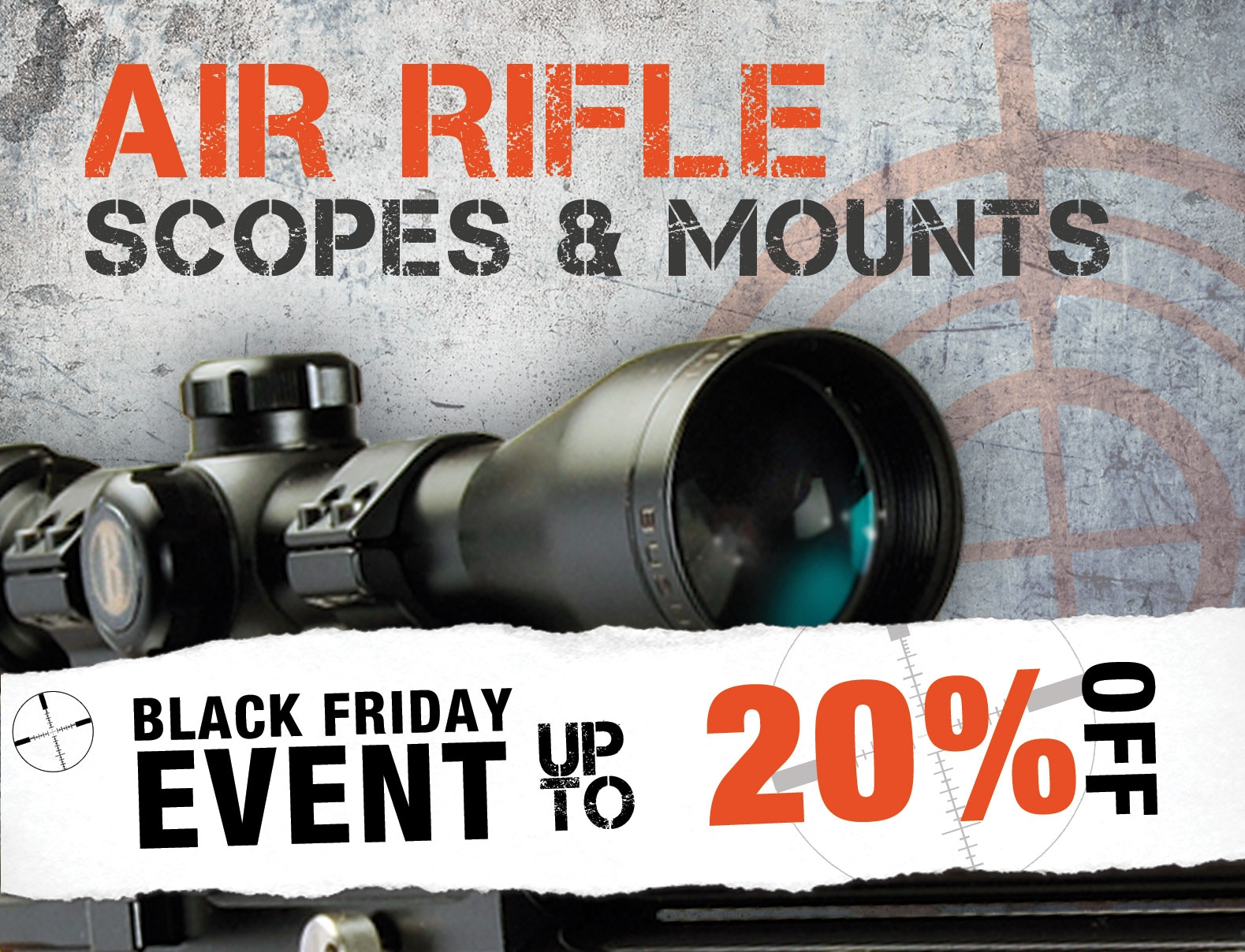 Air Rifle Scopes & Mounts