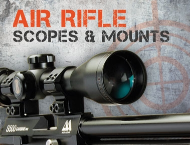 Air Rifle Scopes & Mounts