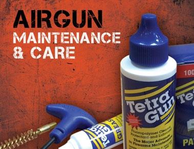 Airgun Cleaning