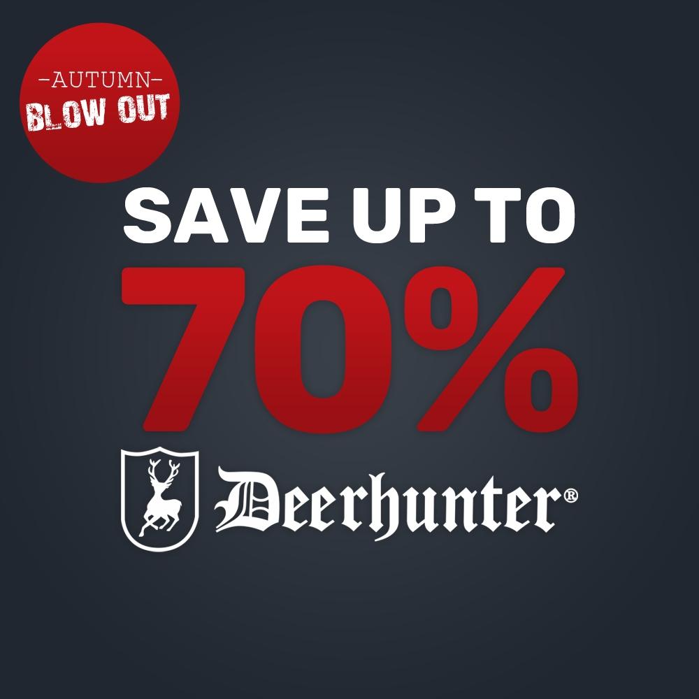 NEW Deerhunter Clearance
