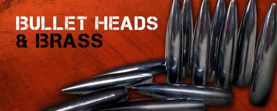 Bullets & Cartridge Cases