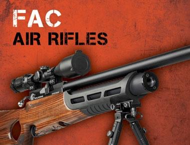 New FAC Air Rifles For Sale at The Sportsman Gun Centre