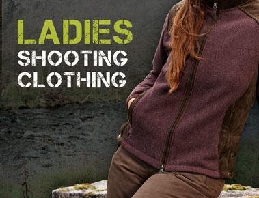 Ladies Shooting Clothing