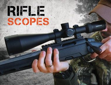 Rifle Scopes & Accessories