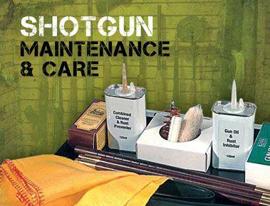 Shotgun Cleaning