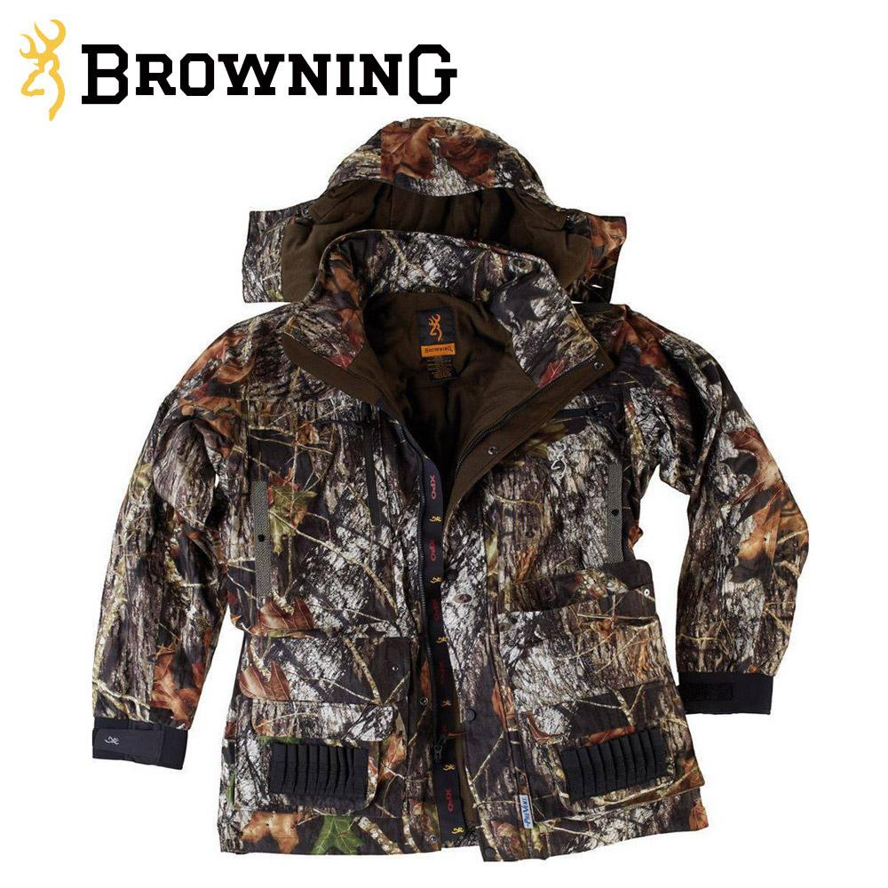 Browning 4 in 1 XPO Big Game Parka - YouTube