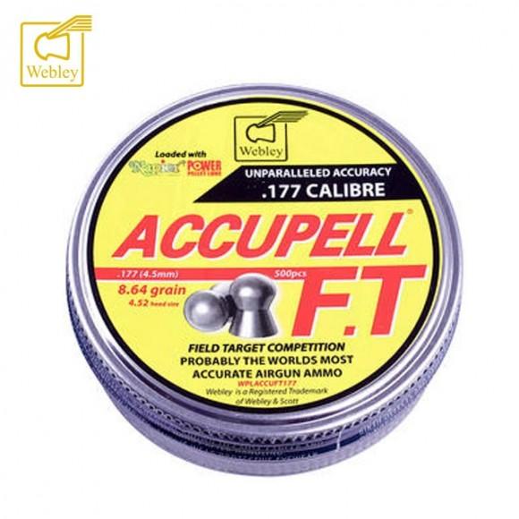 Webley Accupell FT Pellets Tin 500