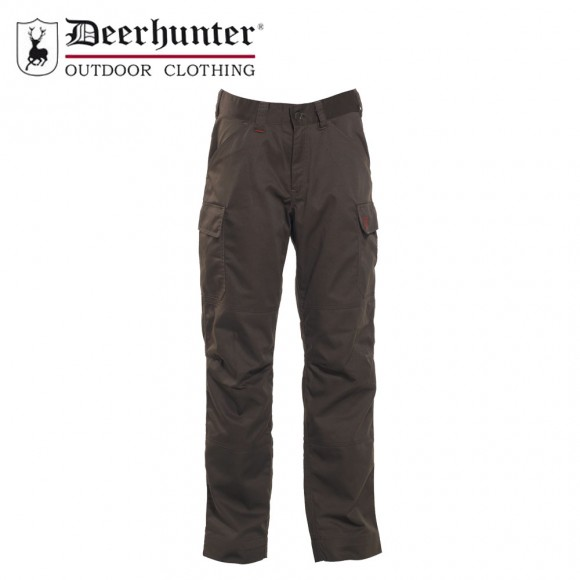 Deerhunter Rogaland Expedition Trousers Brown Leaf