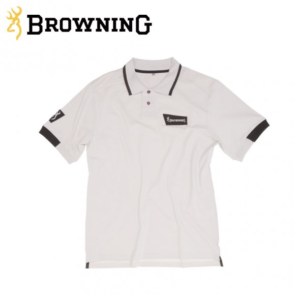 Browning Ultra Polo Shirt Biege