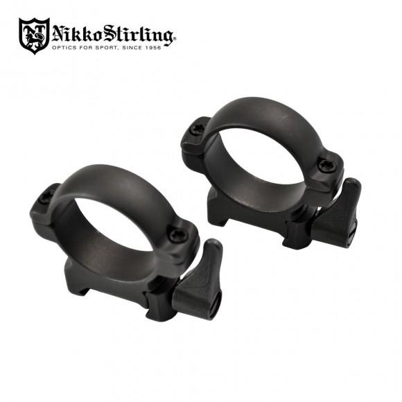 Nikko Stirling Diamond QR Steel 1Inch