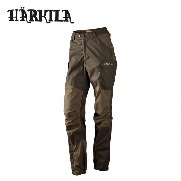 Harkila Dagny Lady Trousers Shadow Brown/Hunting Green