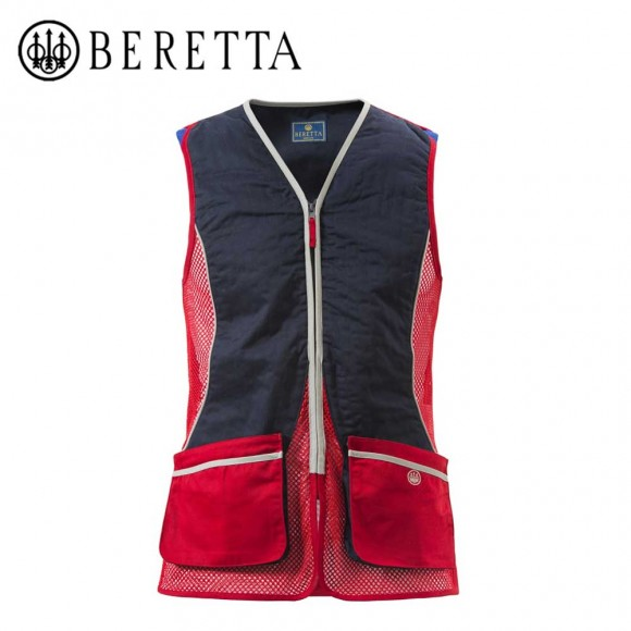 Beretta Silver Pigeon Vest Red And Blue