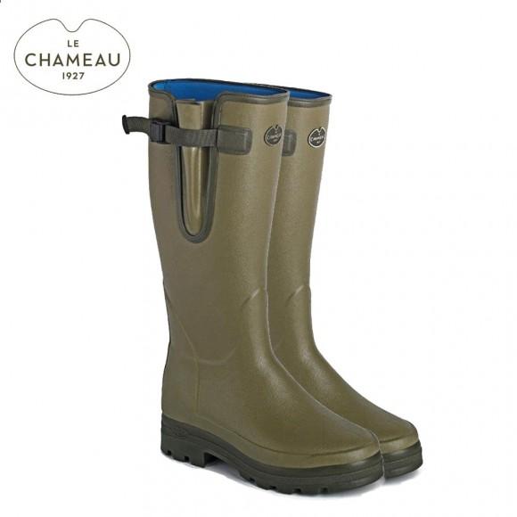 Le Chameau Vierzonord Neoprene Lined Wellington Boots (Mens)