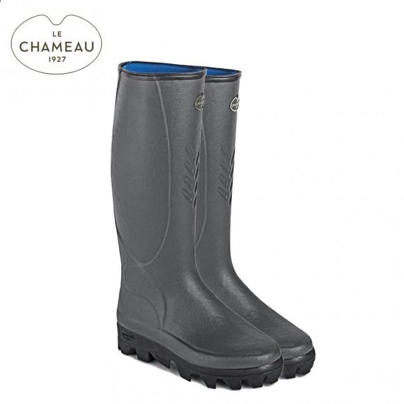 Le Chameau Ceres Neoprene Lined Wellington Boots (Mens)