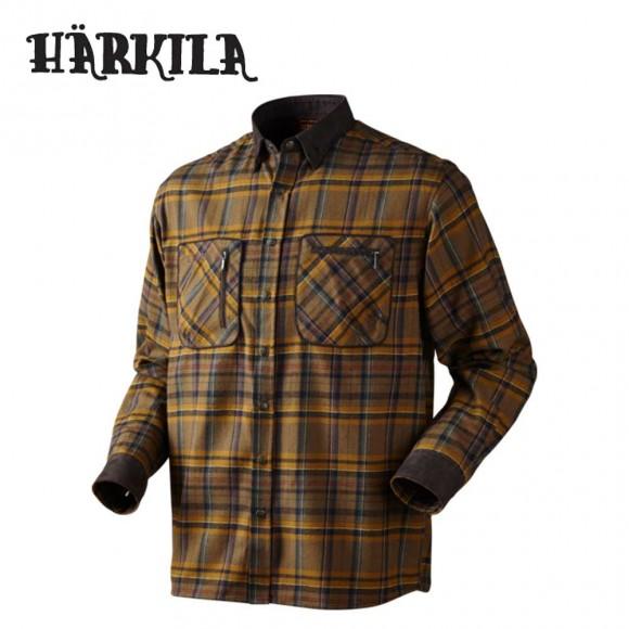 Harkila Pajala Shirt - Tobacco Check