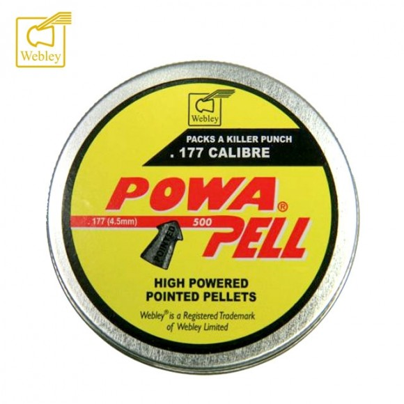 Webley Powapell Pellets Tin 500