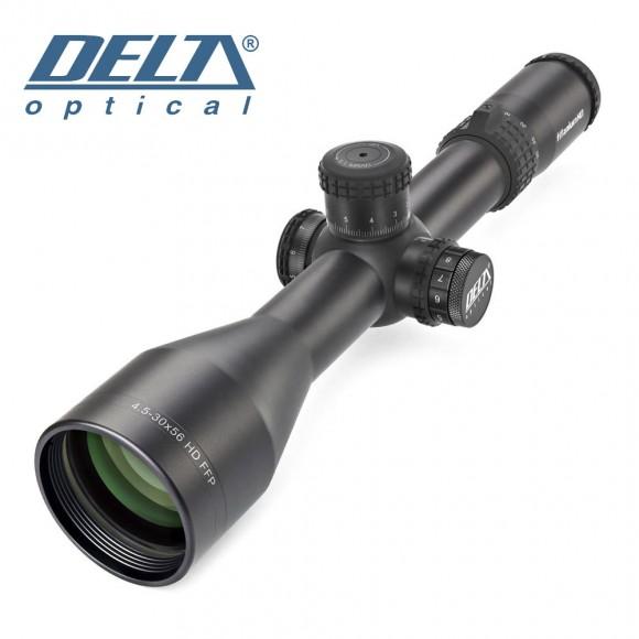 Delta Optical Titanium 4.5-30x56 IR FFP Mil/Mil