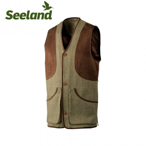 Seeland Ragley Waistcoat Moss Check